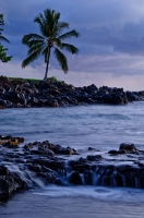 Twilight at 'Ahihi Cove